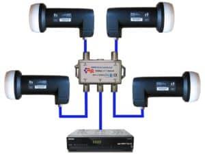 схема подключения конверторов